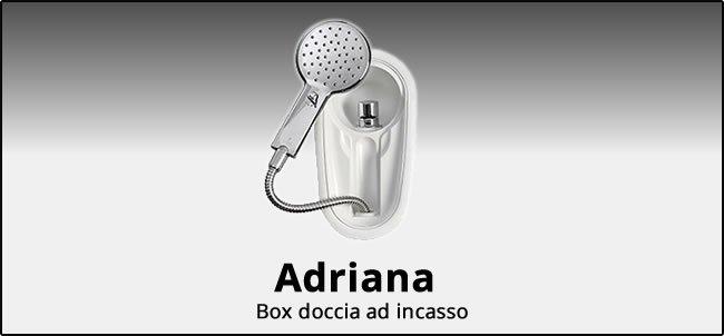 Box doccia ad incasso Adriana
