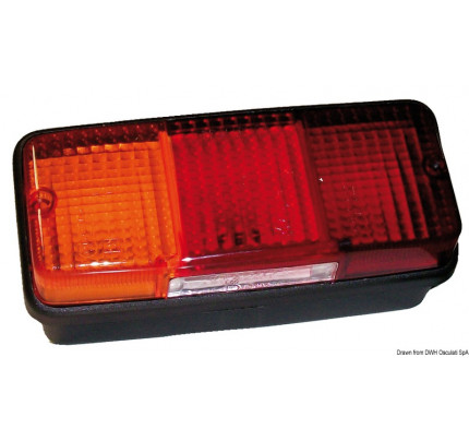 Osculati-02.021.02-Fanale posteriore SX 4 funzioni 3 lampadine-20