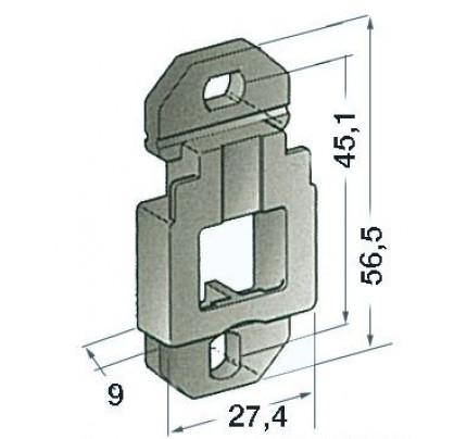 Osculati-14.116.01-Basetta di supporto a parete-20
