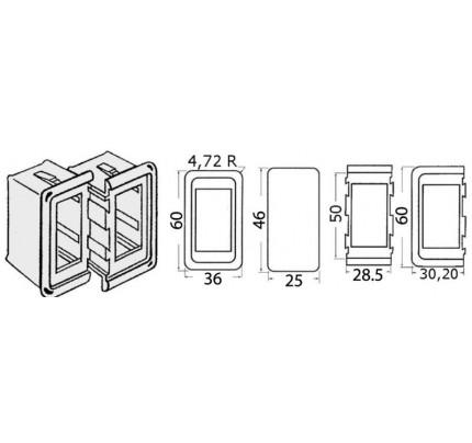 Osculati-PCG_935-Cornice per interruttori in plastica-20