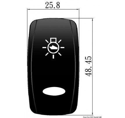 Osculati-PCG_35702-Simboli incisi a laser. Bascule OVAL per interruttori Marina TOP con simbologia illuminata-20