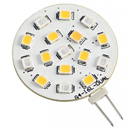 Osculati-PCG_38521-Lampadina LED SMD bicolore zoccolo G4-20