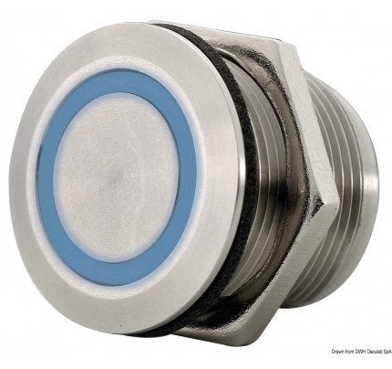 Osculati-14.482.00-Interruttore dimmerabile per luci a LED ø 19 mm-20