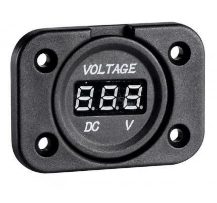 Osculati-PCG_34977-Voltometro/Amperometro digitale e prese corrente con montaggio ad incasso-20