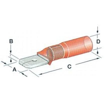Osculati-PCG_1072-Faston preisolati con termoretraibile a tenuta stagna da 6,3 mm-20