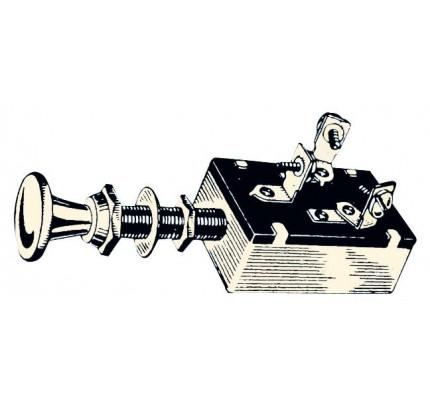 Osculati-PCG_14117-Interruttore a 3 posizioni, pannello ottone cromato.-20