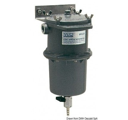 Osculati-PCG_1368-Prefiltro centrifugo separatore acqua/carburante (gasolio o benzina) 150 micron-20