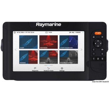 Raymarine-29.702.32-Ecoscandaglio Element 12 HV-20