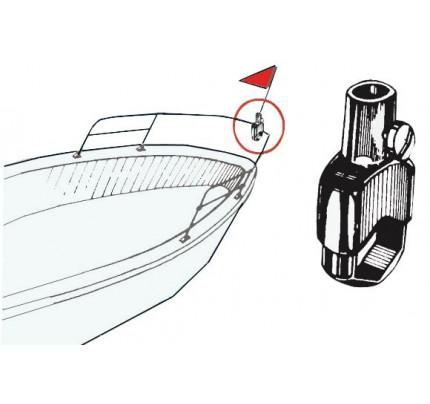 Osculati-PCG_2362-Supporto asta bandiera per il montaggio su pulpiti o corrimano-20