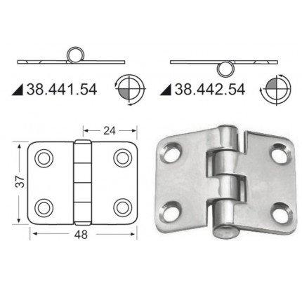 Osculati-PCG_19577-Cerniera 2 mm-20