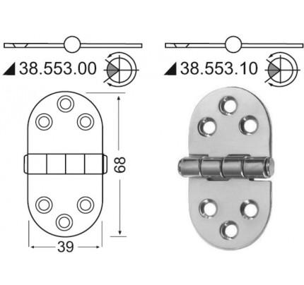 Osculati-PCG_19607-Cerniera 2 mm-20