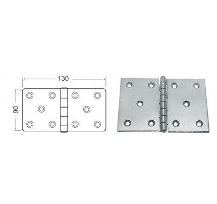 Osculati-38.822.06-Cerniera inox mm 130x90-20