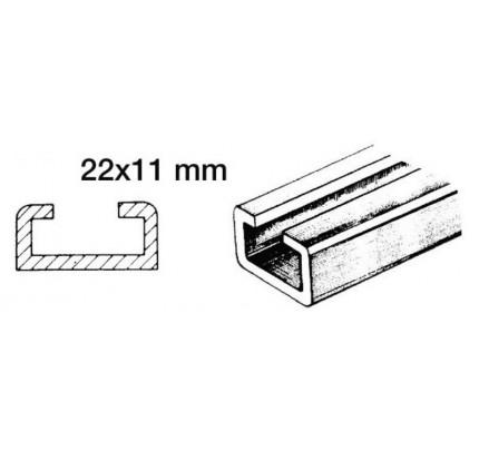Osculati-46.786.03-Rotaia per scorrevoli 1 m 22x11mm-20