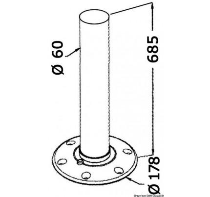 Osculati-PCG_26777-Gamba tavolo in alluminio-20