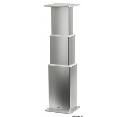 Osculati-PCG_40527-Gamba tavolo elettrica SQUARE-ALU-20