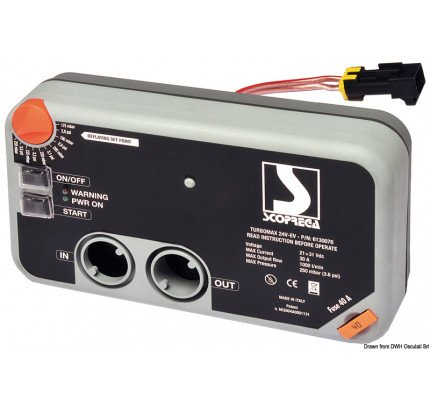 Osculati-PCG_15841-Gonfiatore elettrico per gommoni BRAVO Turbo Max Kit-20