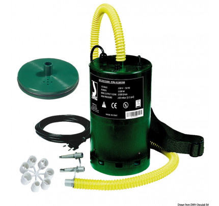 Scoprega-66.449.10-Gonfiatore elettrico Bravo 230/1000-20
