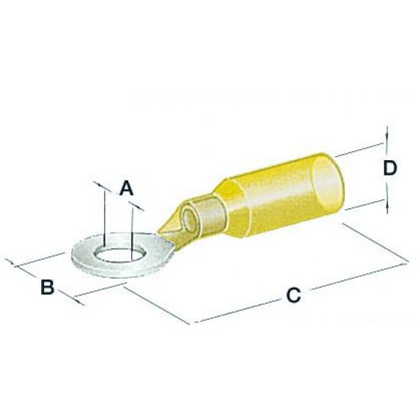 Osculati-14.800.04-Occhioli stagni foro 6,4 mm giallo-30