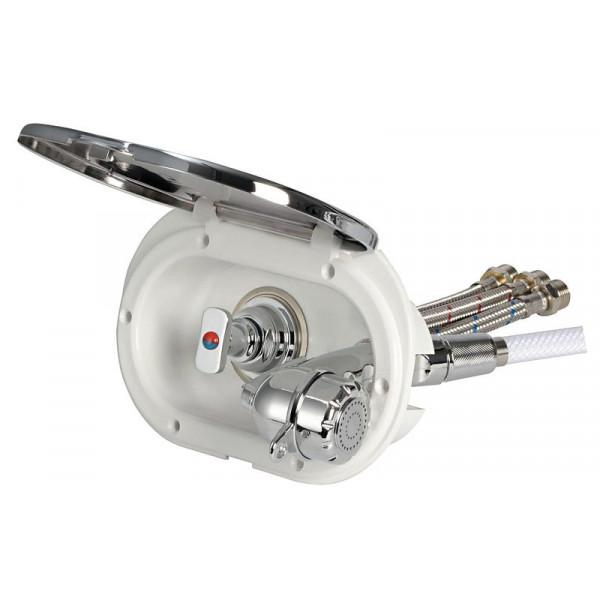 Osculati-15.240.34-Box doccia cromato tubo PVC 4 m uscita posteriore/laterale-30