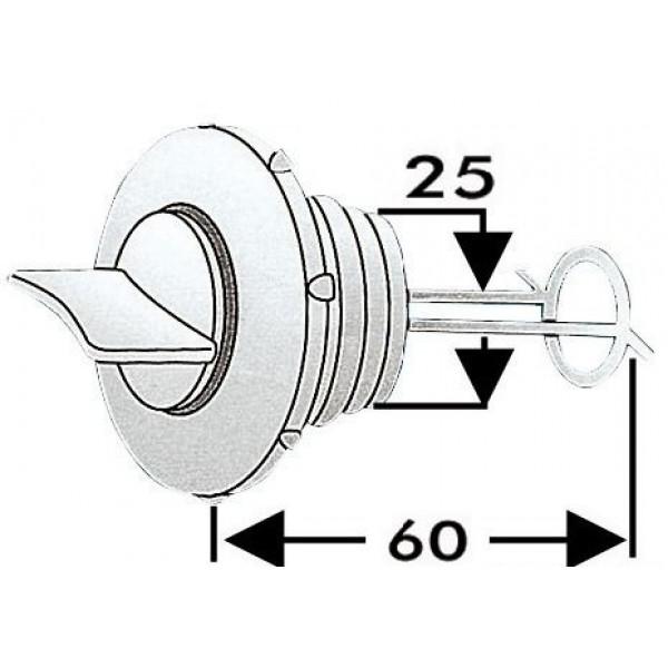 Osculati-18.346.10-Tappo scarico nylon 25 mm-30