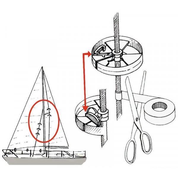 Osculati-57.373.40-Coppia rotelle protezione Sailguard-30