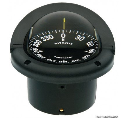 Ritchie navigation-PCG_35086-RITCHIE Helmsman 3 3/4 (94 mm) compasses with compensators and night lighting-20