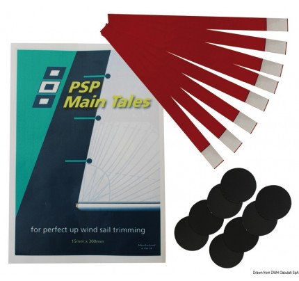 PSP Marine Tapes-35.661.01-PSP permanent wind indicator strips 8-pcs-package-2