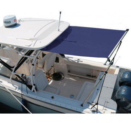Oceansouth-46.907.09-Bimini top w/telescopic arm f.T-Top 290/260/230 cm-20