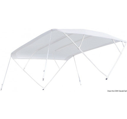 """Tessilmare-PCG_3359-TESSILMARE """"Shade Master Fish"""" bimini specially designed for open hulls with pedestal steering-20"""