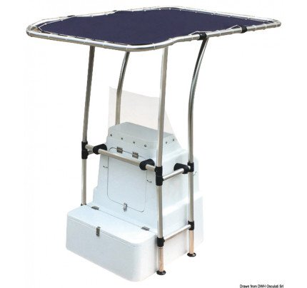 Oceansouth-48.195.03-Professional light alloy T-Top-20