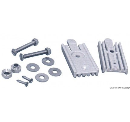 Quick coupling kit f. SS ladders