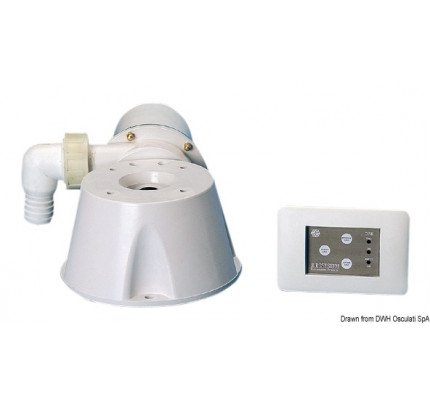 Vacuum Blue wave-PCG_17753-Kit for converting manual or electric toilet units SILENT type-20