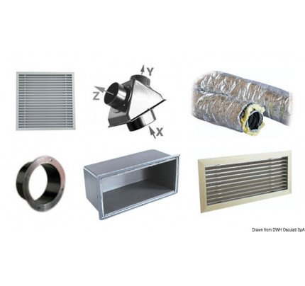 Climma-50.241.55-Air second outlet accessory kit C-20