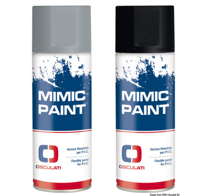 Osculati-52.570.05-MIMIC PAINT Spay for pvc RAL 7046 gray 400ml-20