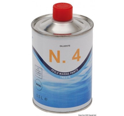 Marlin Yacht Paints-65.121.00-MARLIN thinner for Flexy and Superflex 0.5 l-20